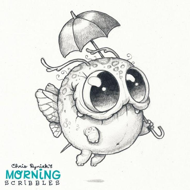 Chris Ryniak is creating Friendly Monster Drawings!   Patreon