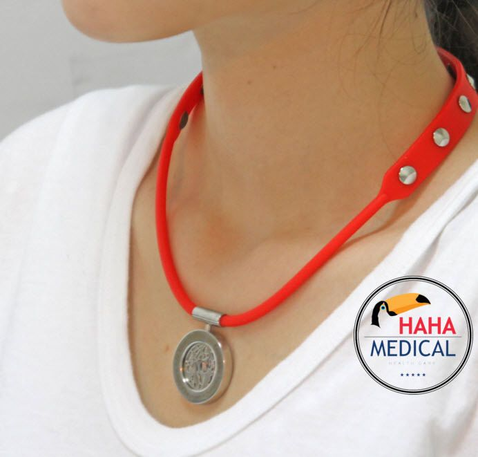 HAHA MEDICAL health necklace  HAHASON POWER-CHIP NECKLACE XS~XXL #HAHAMEDICAL