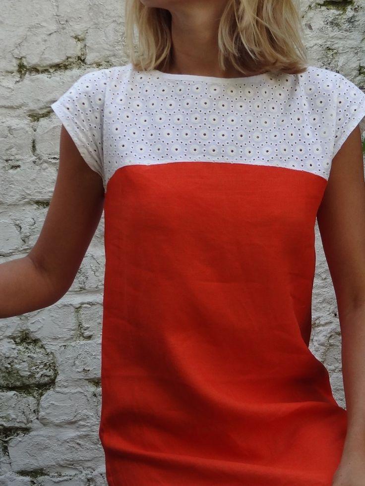 robe de débutante orange (1)