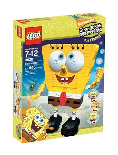 How About A Cartoon Network Lego Set? LEGO SpongeBob Build-A-Bob!
