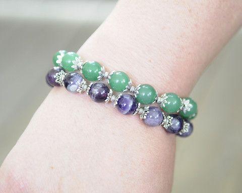 Stone Bracelet Get them here: http://www.one1earth.com/#_a_lynzeysurgenor