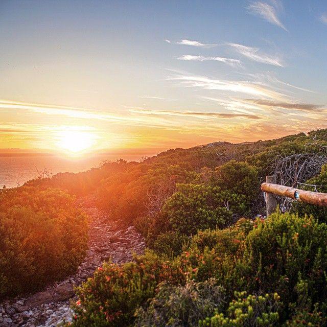 Sunset from Robberg Peninsula, Plettenberg Bay