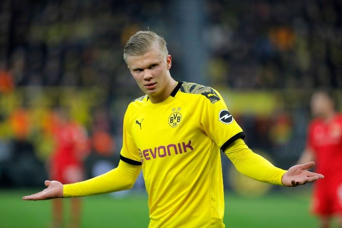 Erling Braut Haaland S Goalscoring Stats For Borussia Dortmund Are Ridiculous And He S Only Played Three Games Fo In 2020 Borussia Dortmund European Football Dortmund