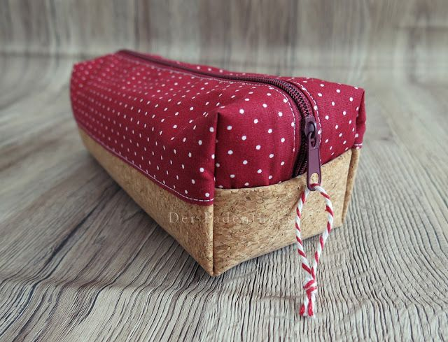 The Thread Fox: Instructions: pencil case with cork n …