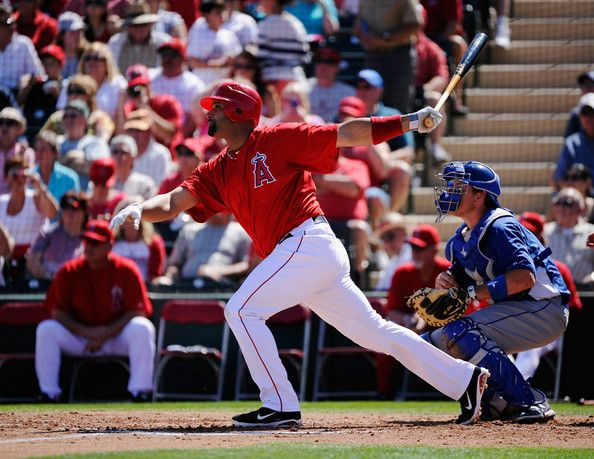Albert Pujols Los Angeles Angels Of Anaheim Orange County California