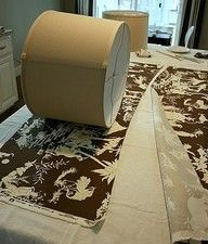 """How to recover lampshades, using fabrics. This is one of the best tutorials on this Ive seen."""" data-componentType=""""MODAL_PIN"""