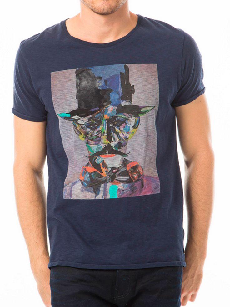 camiseta de la firma Scotch & soda. www.modaurbanfashion.com