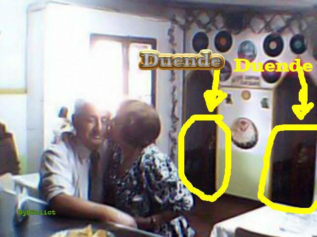fotos de duendes 100% reales tomada en celebracion 50 años de matrimonio