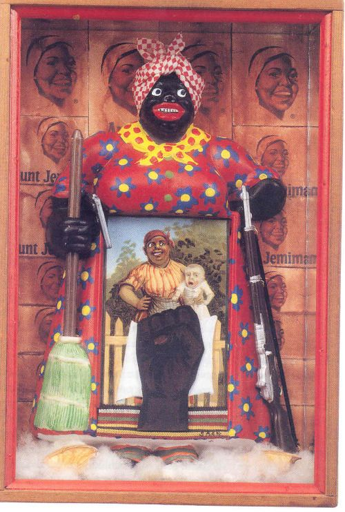 The Liberation of Aunt Jemima Betye Saar 1972. http://ift.tt/2zWA7bq
