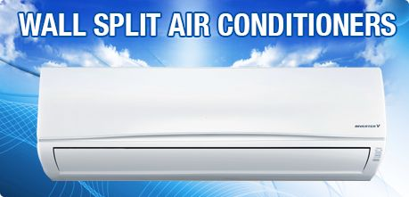 "Wall Split Air Conditioner ""high wall air conditioners"" are designed to provide air conditioner to a single room."