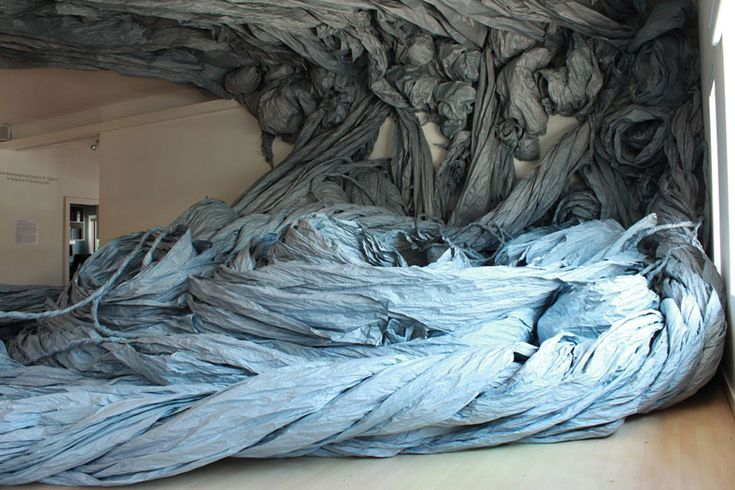 wade kavanaugh   stephen b. nguyen: giant paper installation - designboom