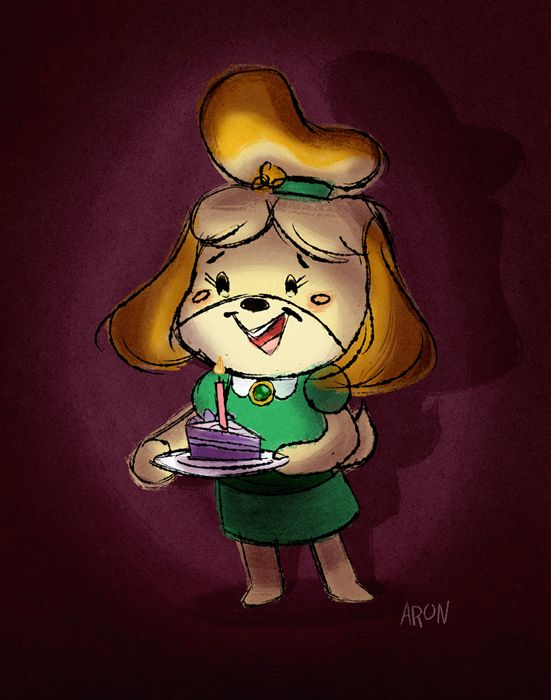 Happy Birthday, Isabelle! I know Isabelle's birthday