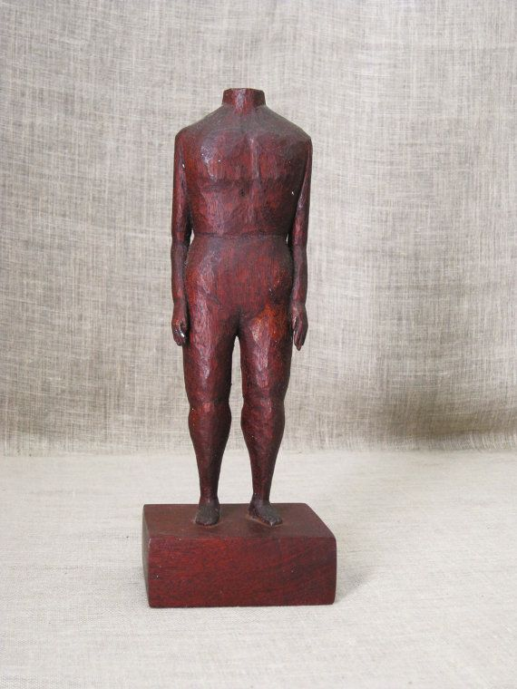 Male Portrait , Carving , Folk Art , Male Figure , Folk Art Carving , Wood Carving , Male Nude , Hand Carved , Handmade , Wood Carvings