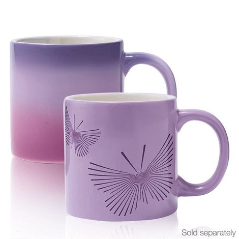 The perfect mate to the tea kettle. Each mug holds 236 ml and is 10 cm H. Dishwasher-safe ceramic. Avon will donate 10% of the sale price from domestic violence fundraising products to the Avon Foundation for Women Canada to support Speak Out Against Domestic Violence programs across the country.