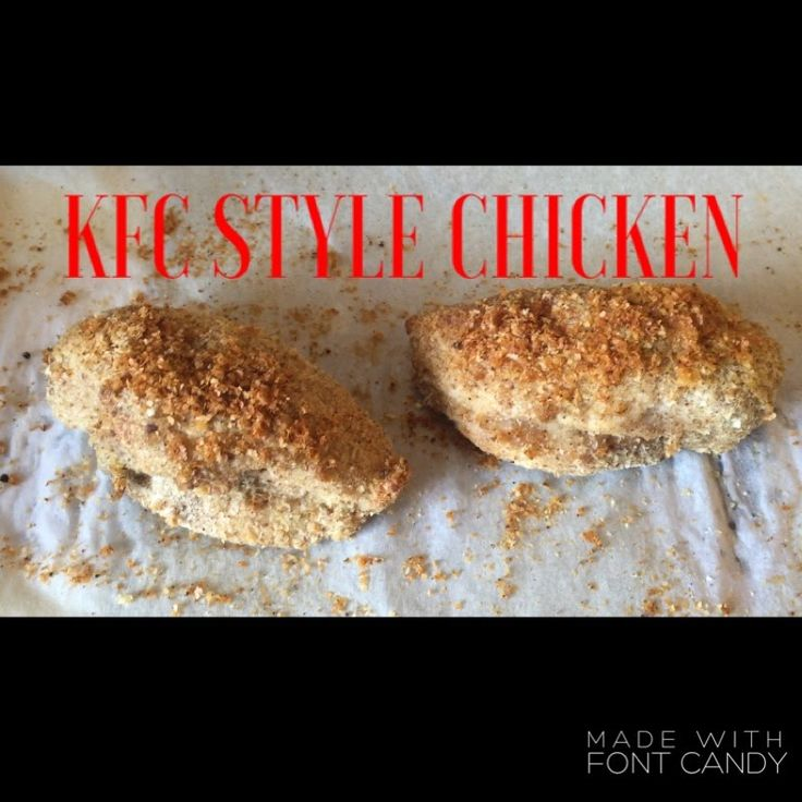 Slimming World Syn Free KFC Style Chicken | Make It Monday's
