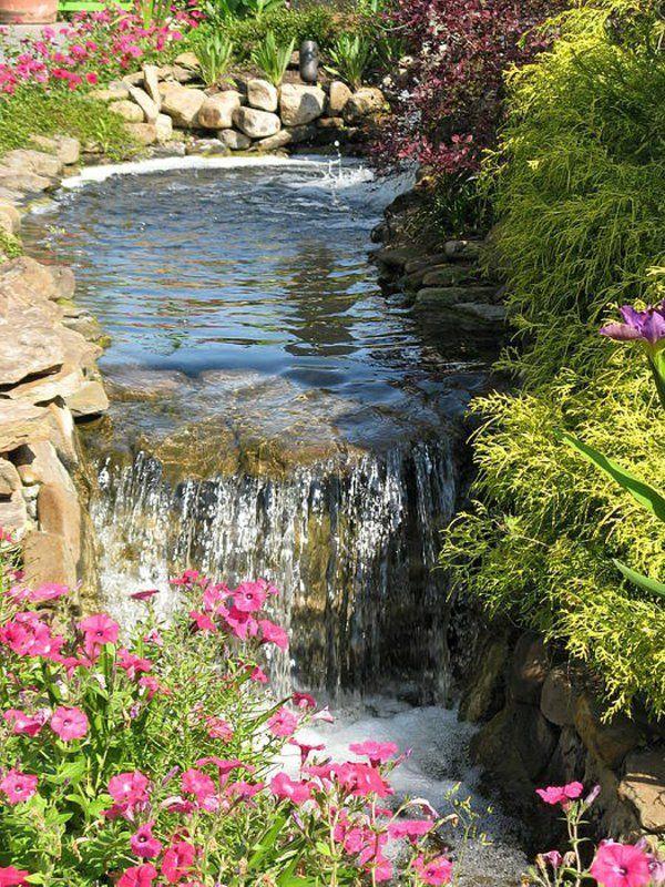 étang décoration naturele de la maison idée design eau
