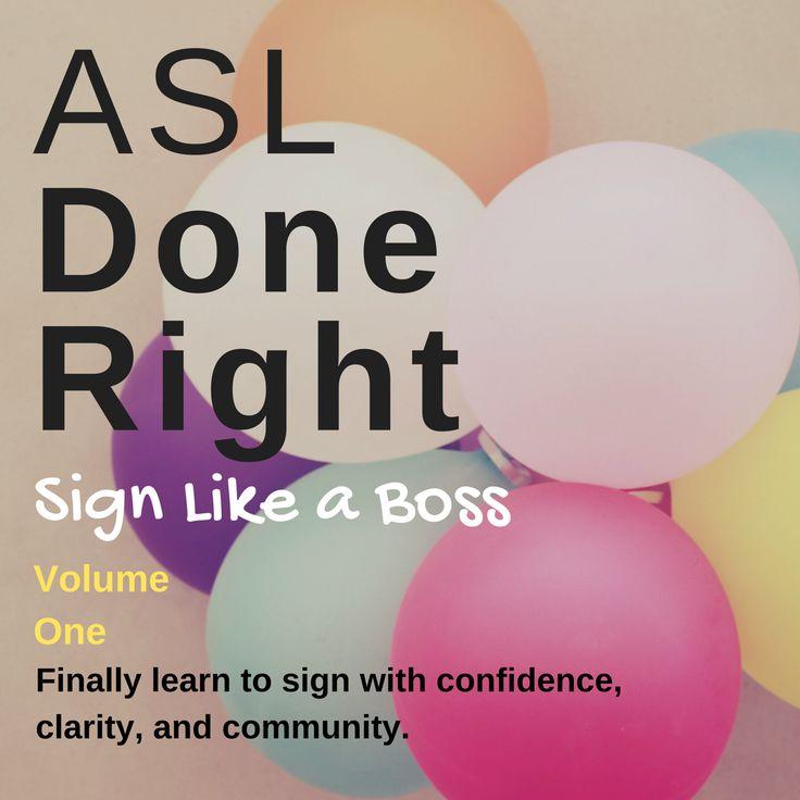Learn ASL online free
