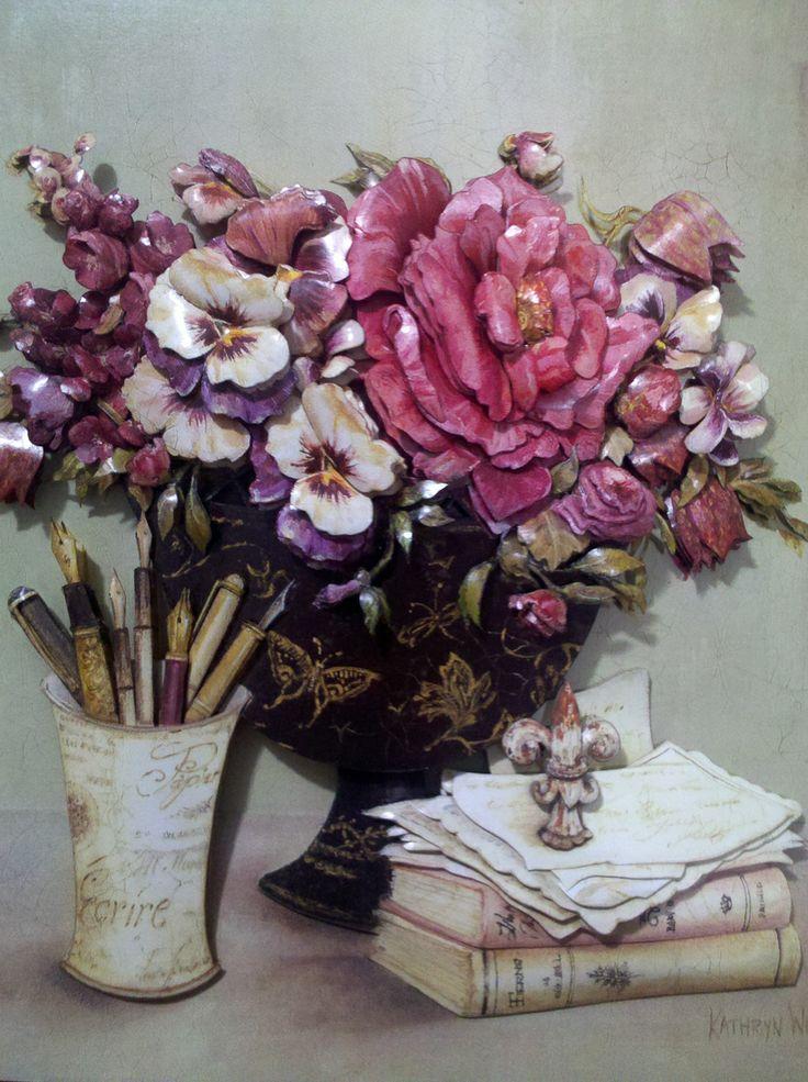 arte francesa#floral4