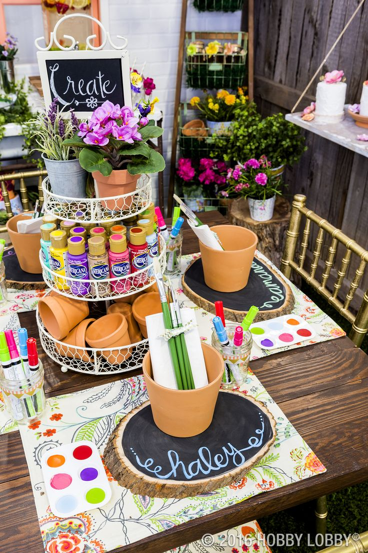 Host the ultimate summer soiree with a beautiful and inspiring garden party!