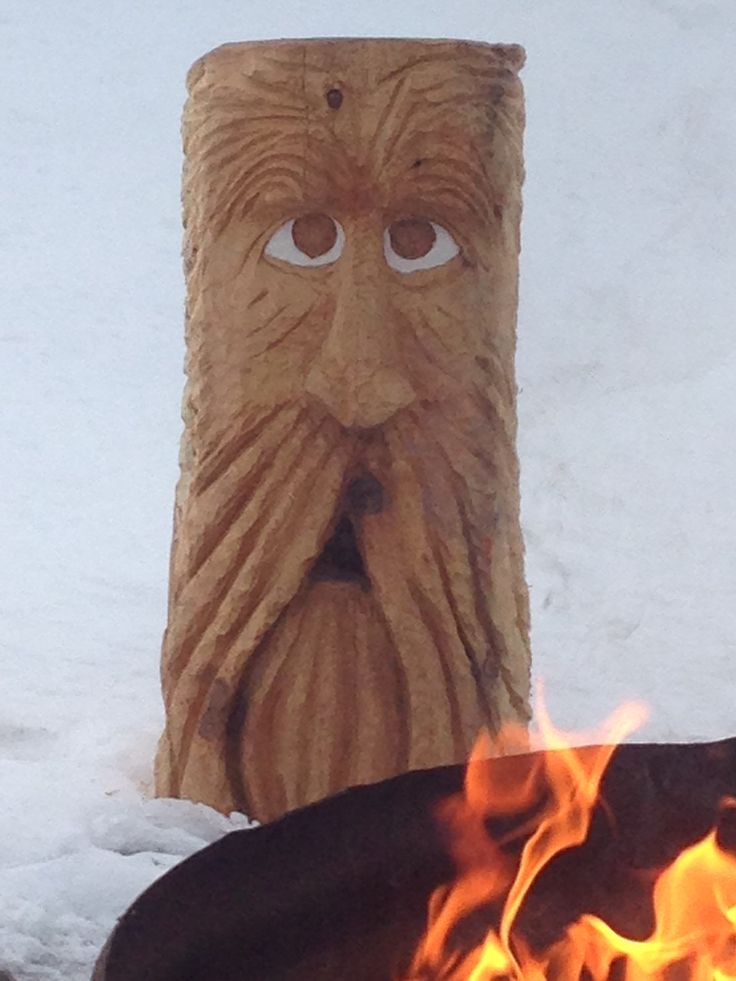 Chainsaw carving stool woodspirits pinterest