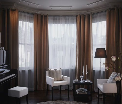 Ideas For Bay Windows In A Living Room Concept Amusing Inspiration