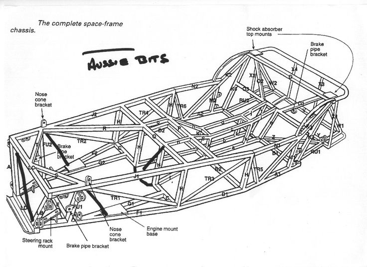 122 best images about space frame chassis design on