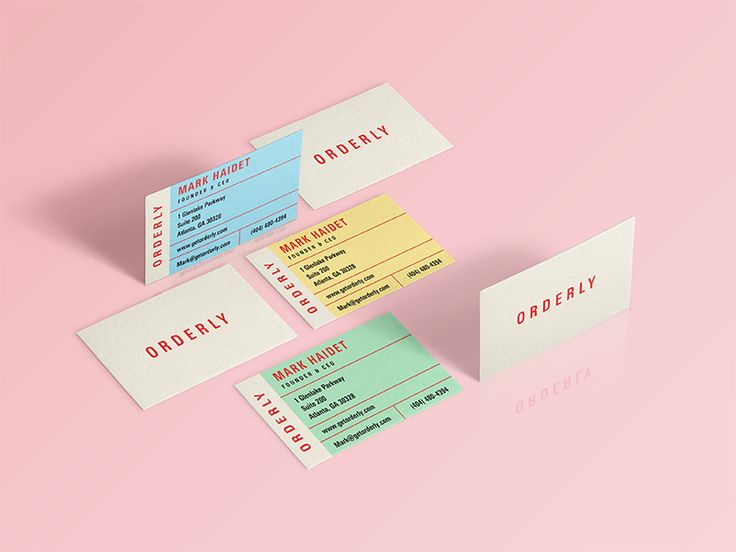 80 best awesome business card inspiration images on pinterest orderly business cards reheart Gallery
