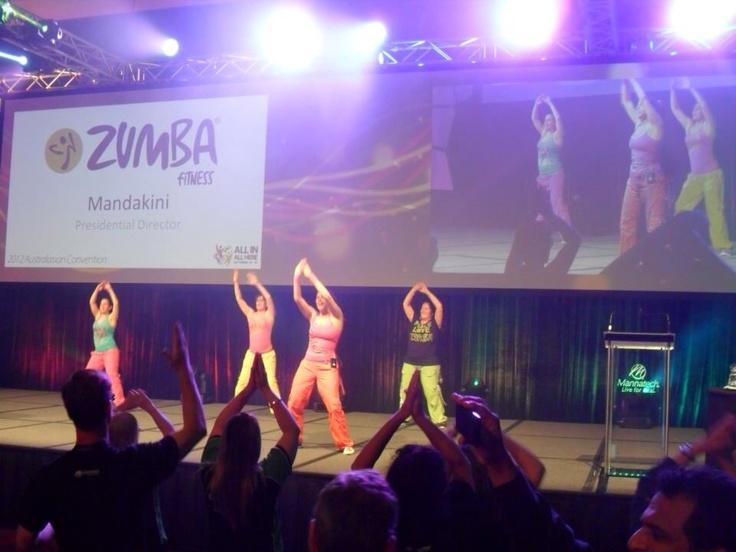Zumba at Mannatech Convention 2012
