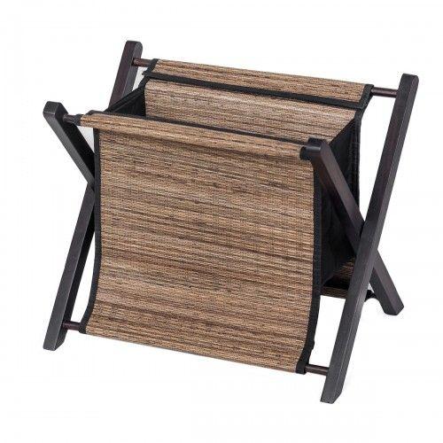 Pelandan | tempat koran majalah buku baju storage lidi kayu dekorasi interior design