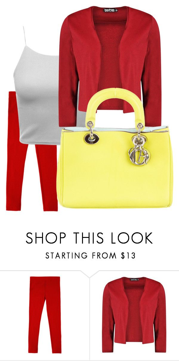 """#3.1 2цвета"" by olesya-garifulina on Polyvore featuring Boohoo and Christian Dior"