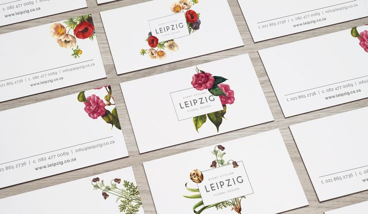 http://www.newnormal.co.za/work/leipzig/  Seeing as the team at Leipzig is made up of a variety of floral style experts, the brand look and feel could not be tied to a specific trend or style - the logo was no exception.