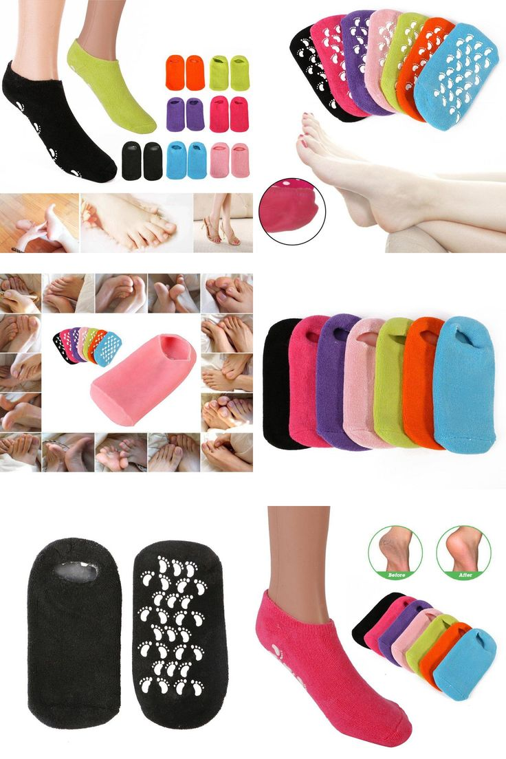 [Visit to Buy] Foot Mask Whitening Exfoliating Gloves Spa Gel Socks maquiagem Makeup Beauty Moisturizing Hand Mask Feet Care Ageless #Advertisement