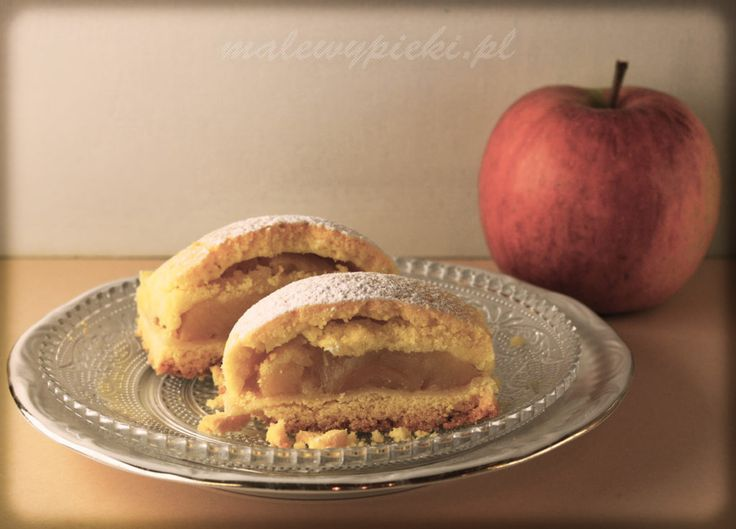 szarlotka z połówek jabłek