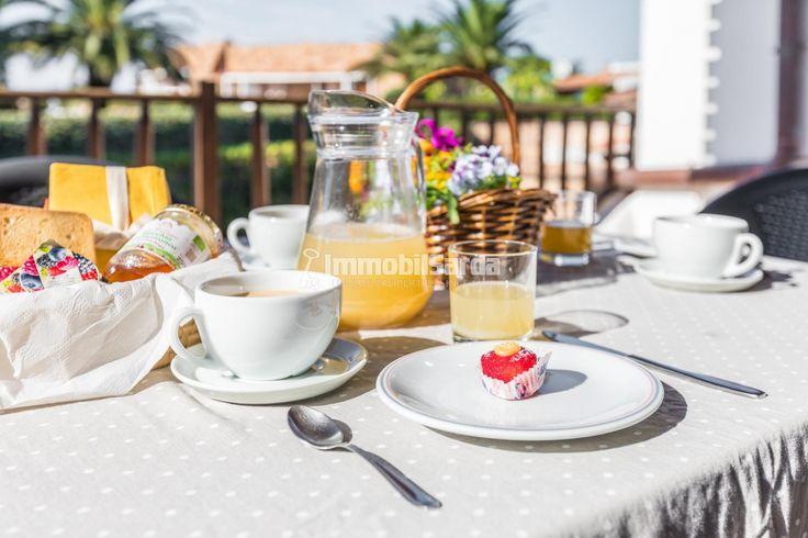 #LeadingRElocal #capocerasoresort #sardinia morning breakfast