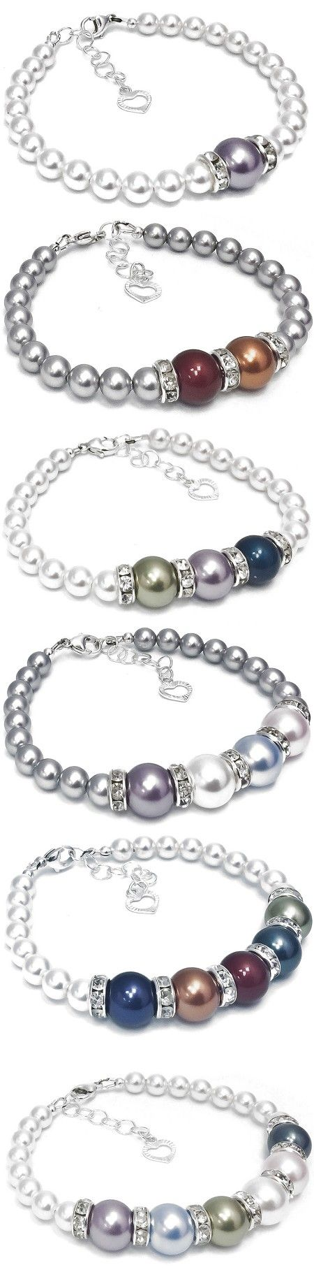 Swarovski Pearl Mother's Bracelet Kit