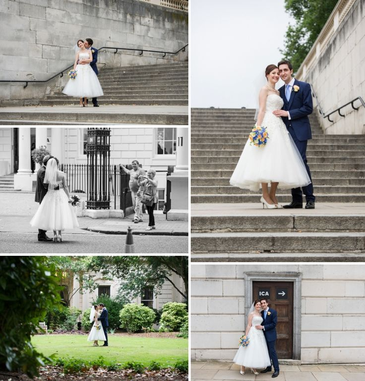 Ros and Alex | Contemporary cool Jewish wedding with 50's and 60's touches, at The ICA (Institute of Contemporary Arts), London, UK