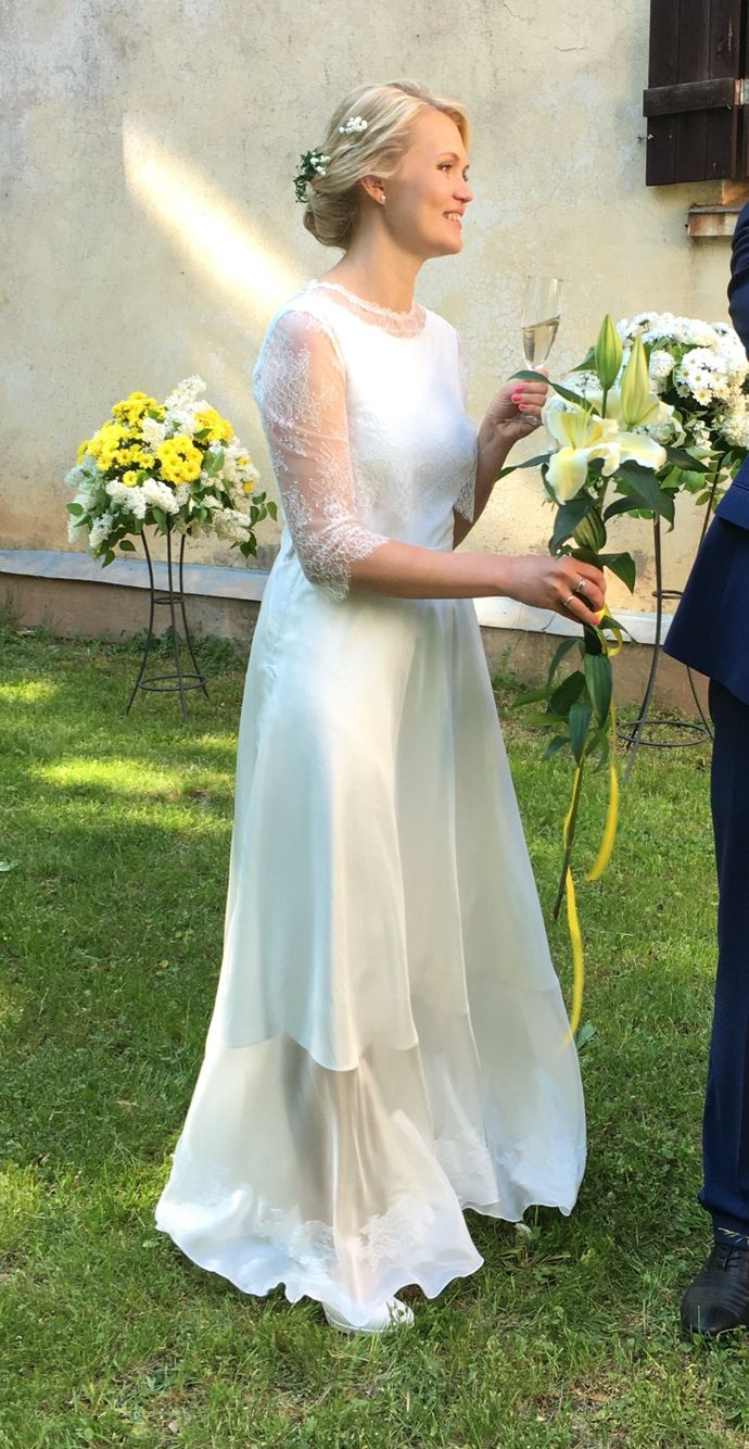 Bridedress #ilzelandmane #whitedress