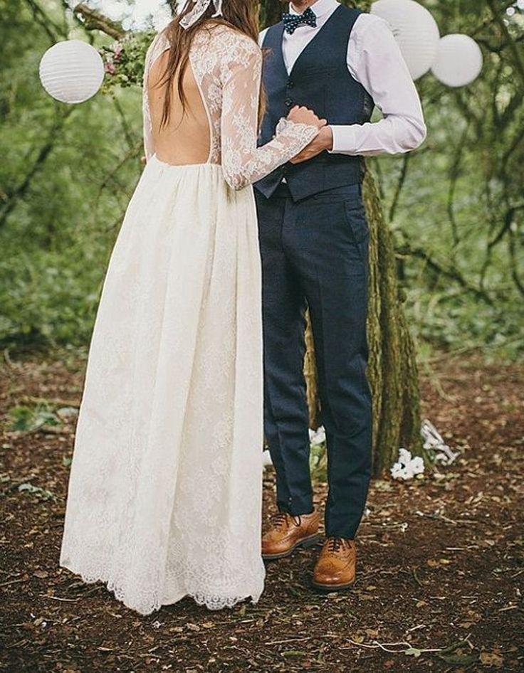 17 meilleures idées à propos de Costume Rustique De Mariage sur ...