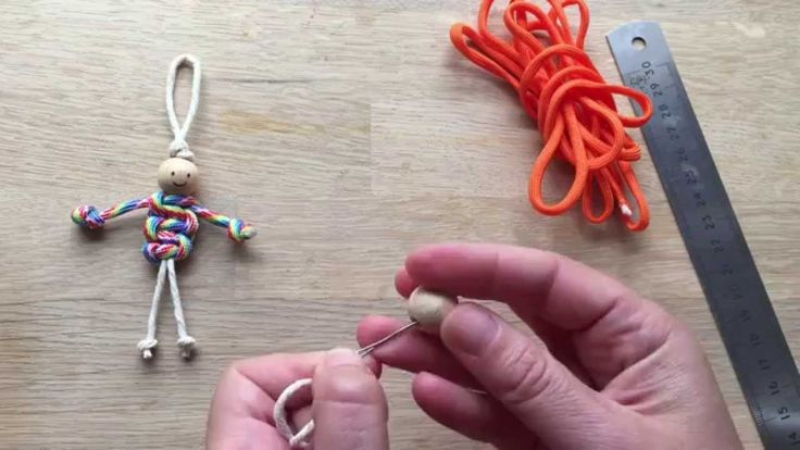 How to Make Macrame Dolls