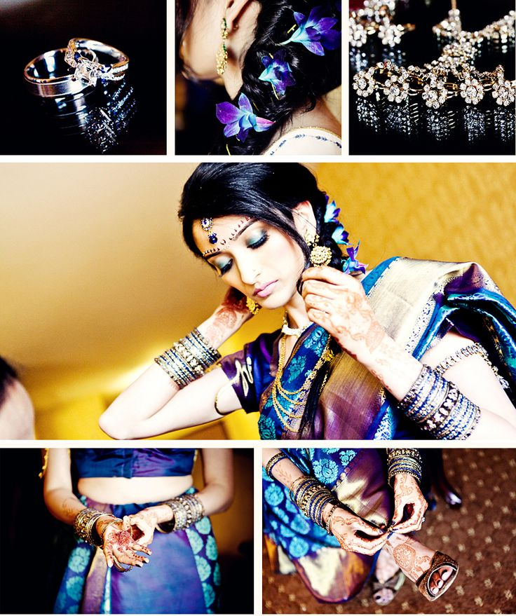 Indian Wedding Photography Bride Getting Ready In Rancho Cucamonga California More Photos http://www.larockphotography.com