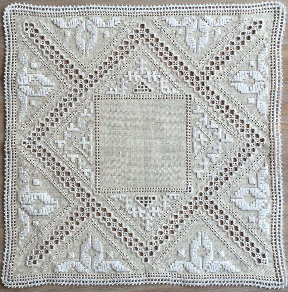 Lefkara lace table cloth