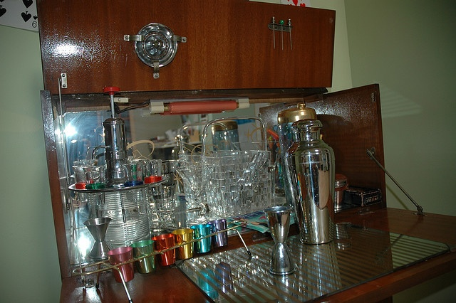 I am not much of a drinker but boy can I collect Vintage Barware