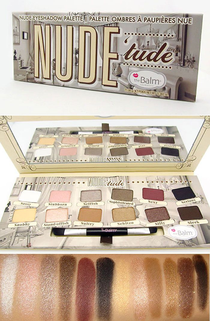 27 Best The Balms Nude Tude Palette Images On Pinterest -3954