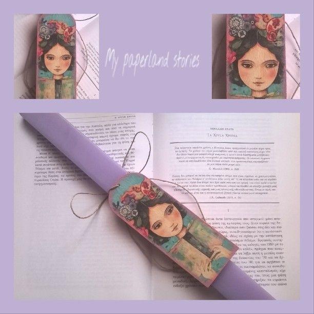 Η δική μου λαμπάδα με σελιδοδείκτη!!!!!!!  #lovereading #eastercandle #book 📚 #booklovers