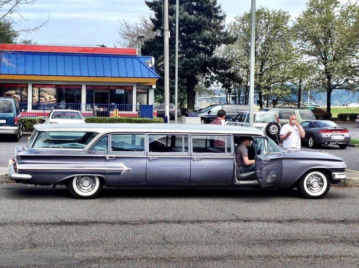 '59 Chevy Limo! Wedding Limo, Wedding Transportation, Bride Limo, Wedding Ride, Vintage Wedding Limo    that's cool