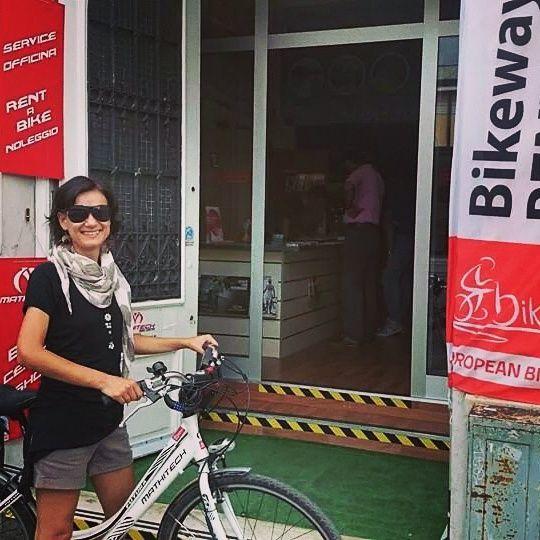 Chiara Meriani, bike blogger