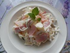 Celerový salát s bílou ředkví