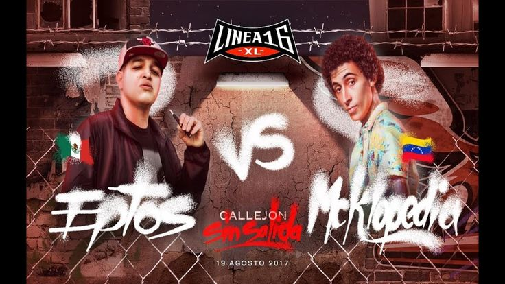 Eptos Uno vs Mcklopedia – Linea 16 Callejón Sin Salida 2017 -   - http://batallasderap.net/eptos-uno-vs-mcklopedia-linea-16-callejon-sin-salida-2017/  #rap #hiphop #freestyle