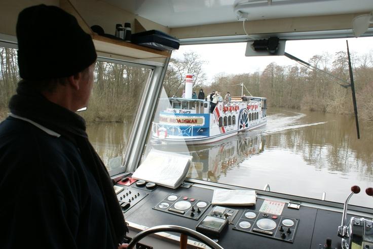 Een van de andere boten van Broads Tours.
