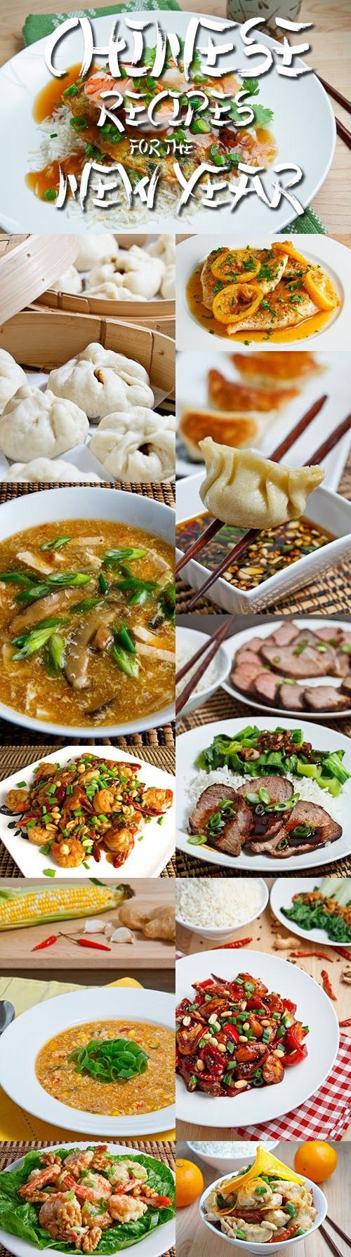 17 Chinese Recipes for the New Year